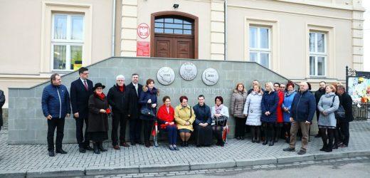 Niezwykła ławeczka stanęła w centrum Sułkowic