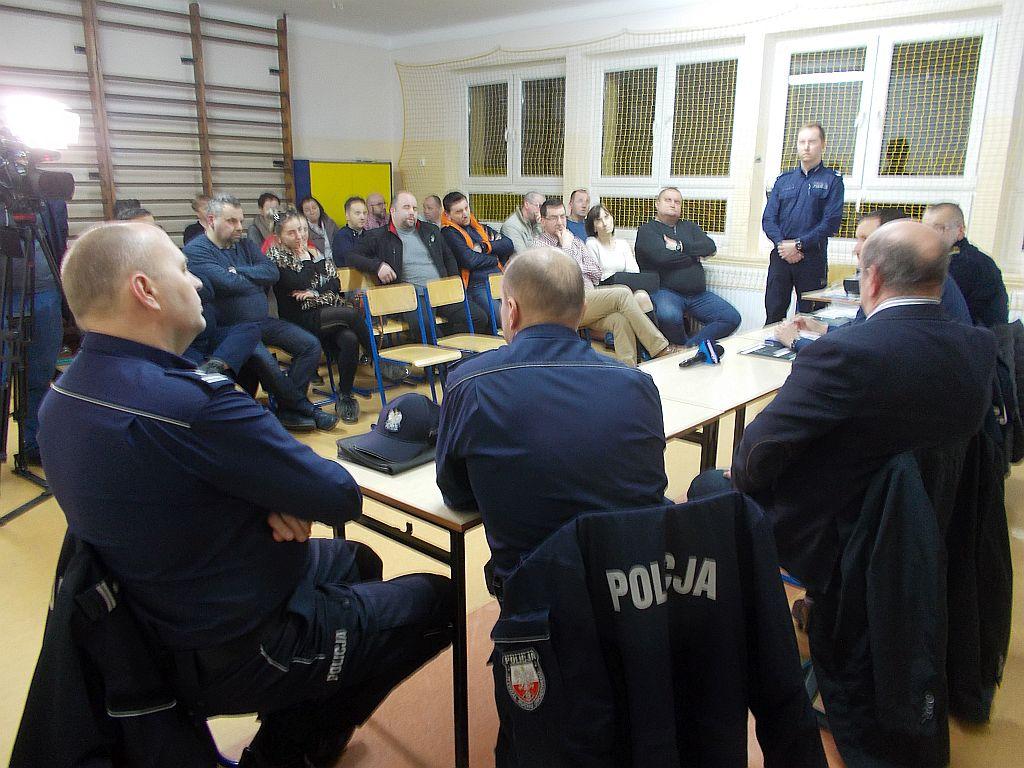 Debata nad bezpieczeństwem pieszych w Osieczanach