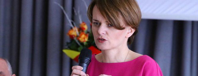 Minister Jadwiga Emilewicz w Sieprawiu