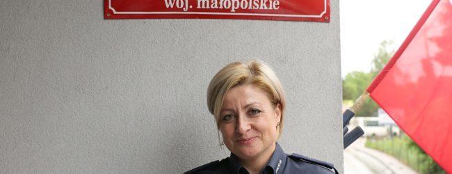 Podkomisarz Aldona Wietrzyk po. komendantem w Komisariacie w Dobczycach