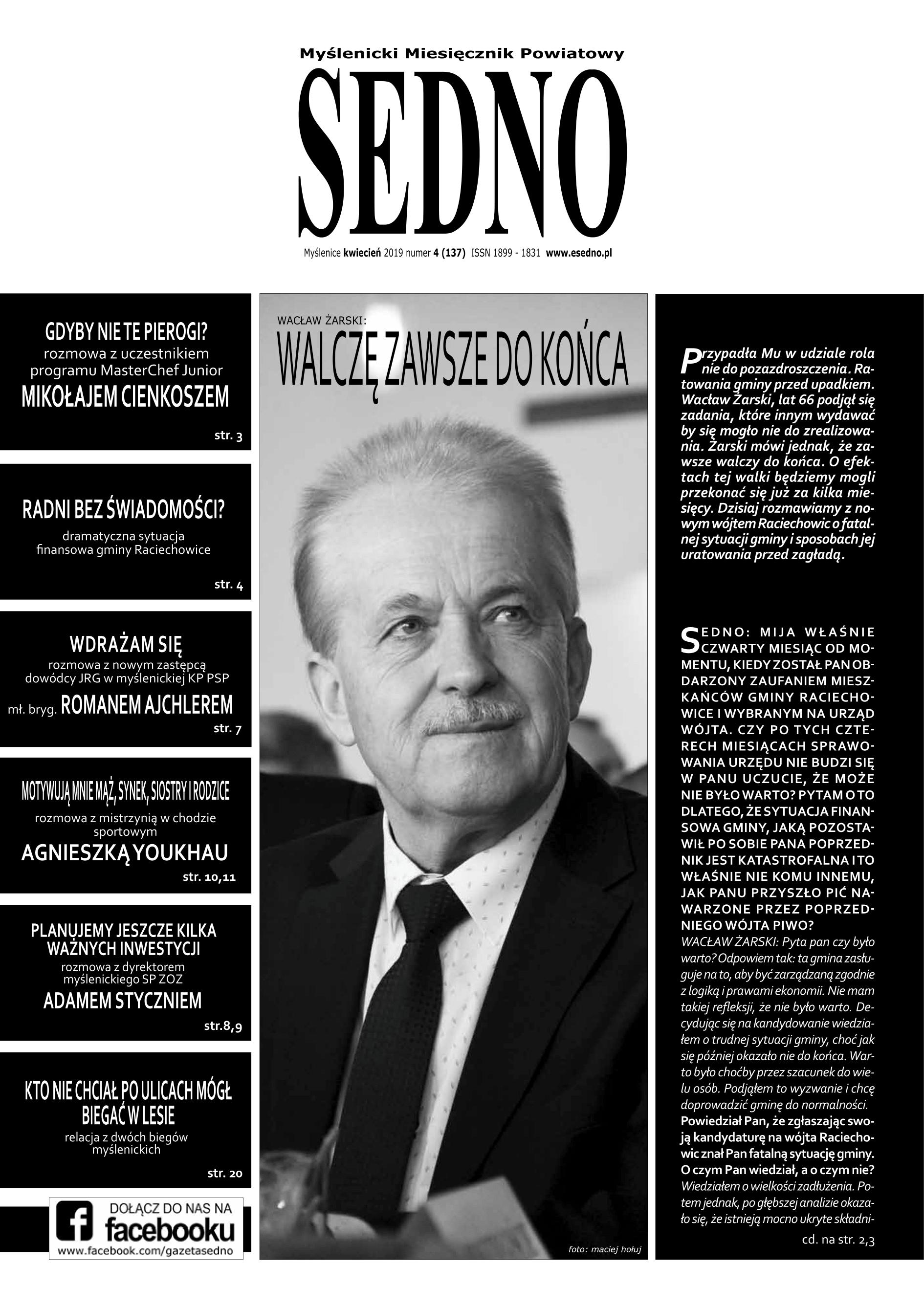 SEDNO kwiecień 2019 numer 4