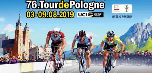 Kolarze startujący w tegorocznym wyścigu Tour de Pologne przejadą przez Myślenice