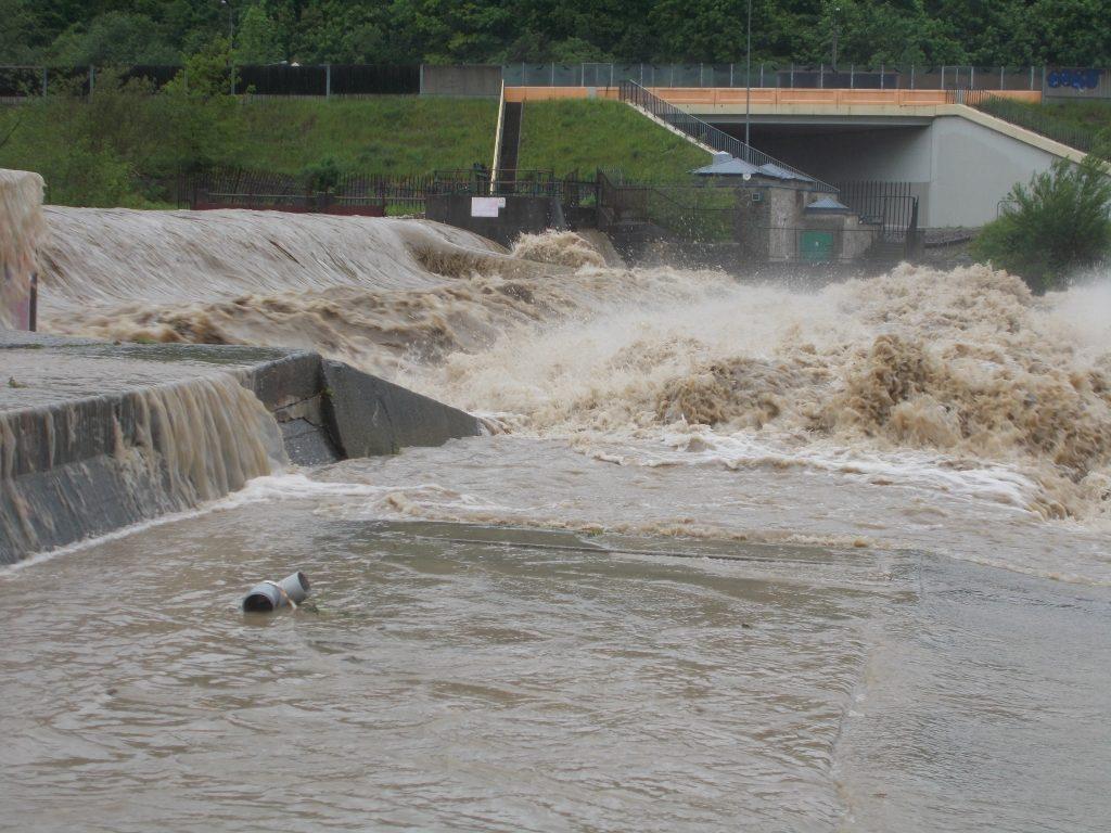 Zagrożenie powodziowe na terenie powiatu myślenickiego