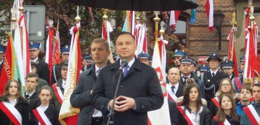 Prezydent RP Andrzej Duda w Myślenicach
