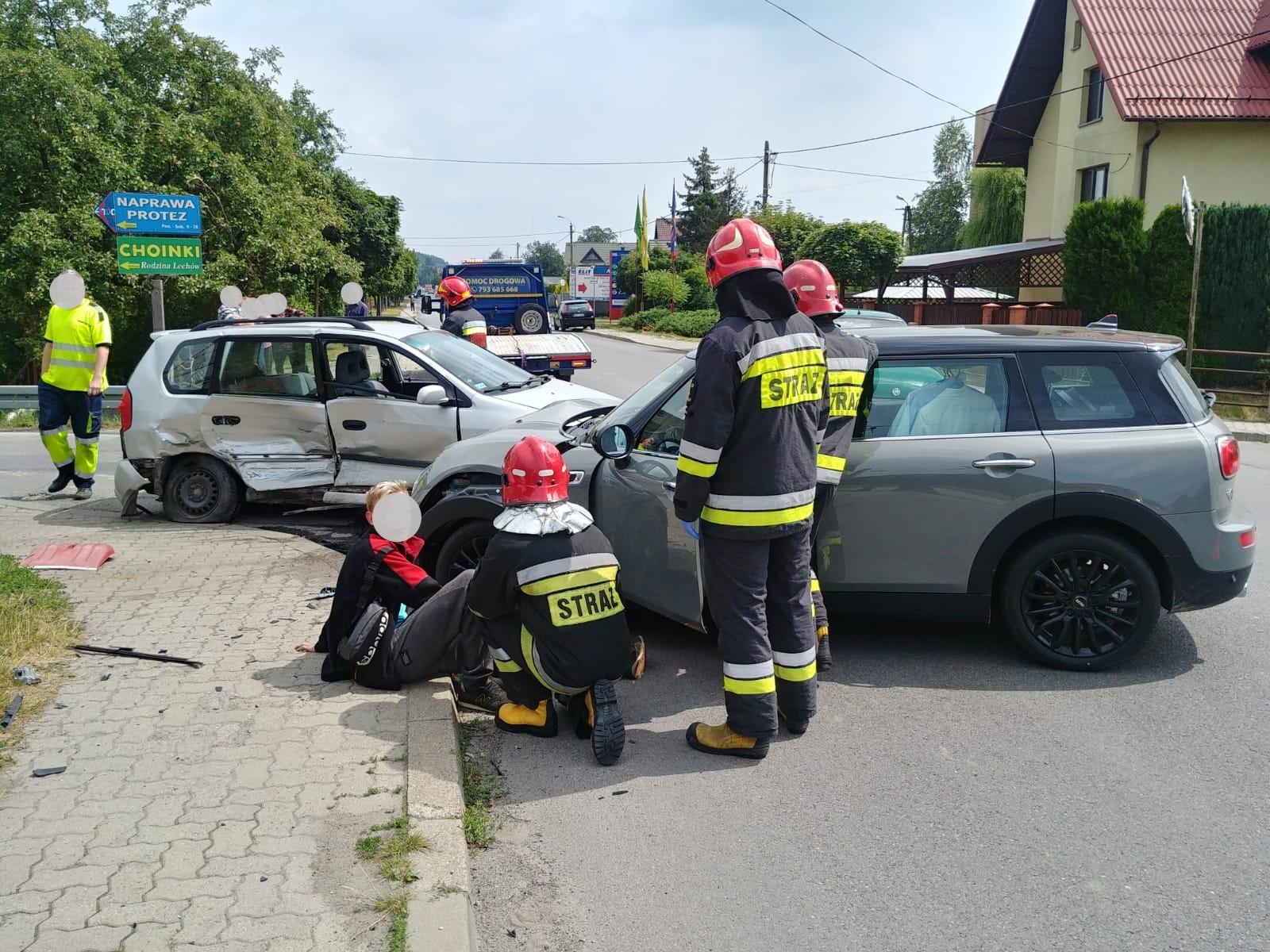 Myśleniccy strażacy ponownie w akcji