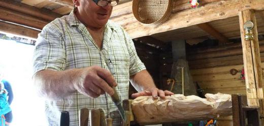 Plener rzeźbiarski w … stodole