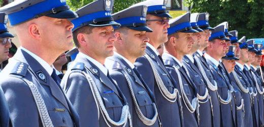 Święto policji na myślenickim rynku