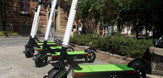 Hulajnogi i skutery (elektryczne) na ulicach Myślenic