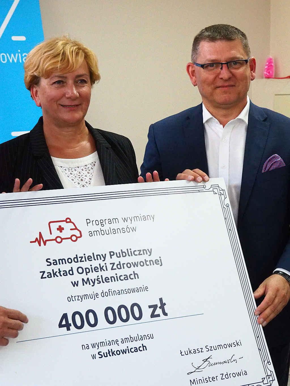 W Sułkowicach wymieniona zostanie karetka