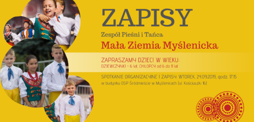 """Ruszyły zapisy do ZPiT """"Ziemia Myślenicka"""""""