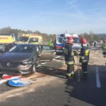 """Dwa samochody zderzyły się na """"Zakopiance"""""""