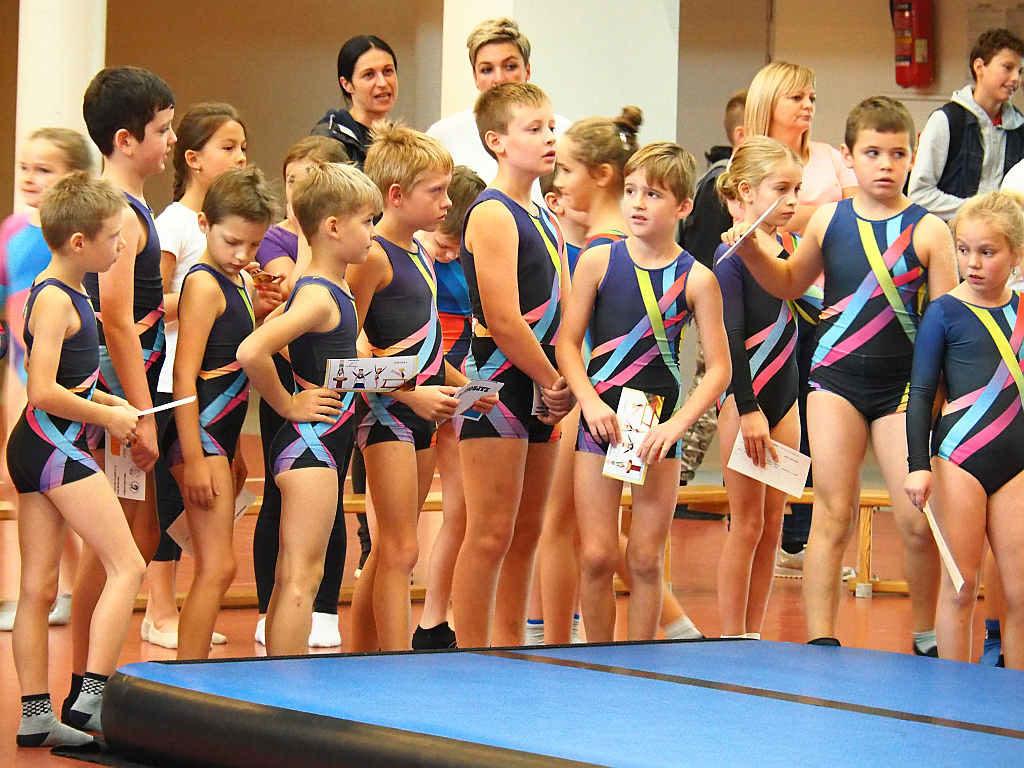 Olimpiada Gimnastyczna w Dobczycach