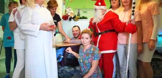 Święty Mikołaj w myślenickim ZOL-u