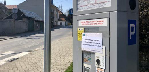 Zawieszone opłaty w Strefie Płatnego Parkowania w Myślenicach