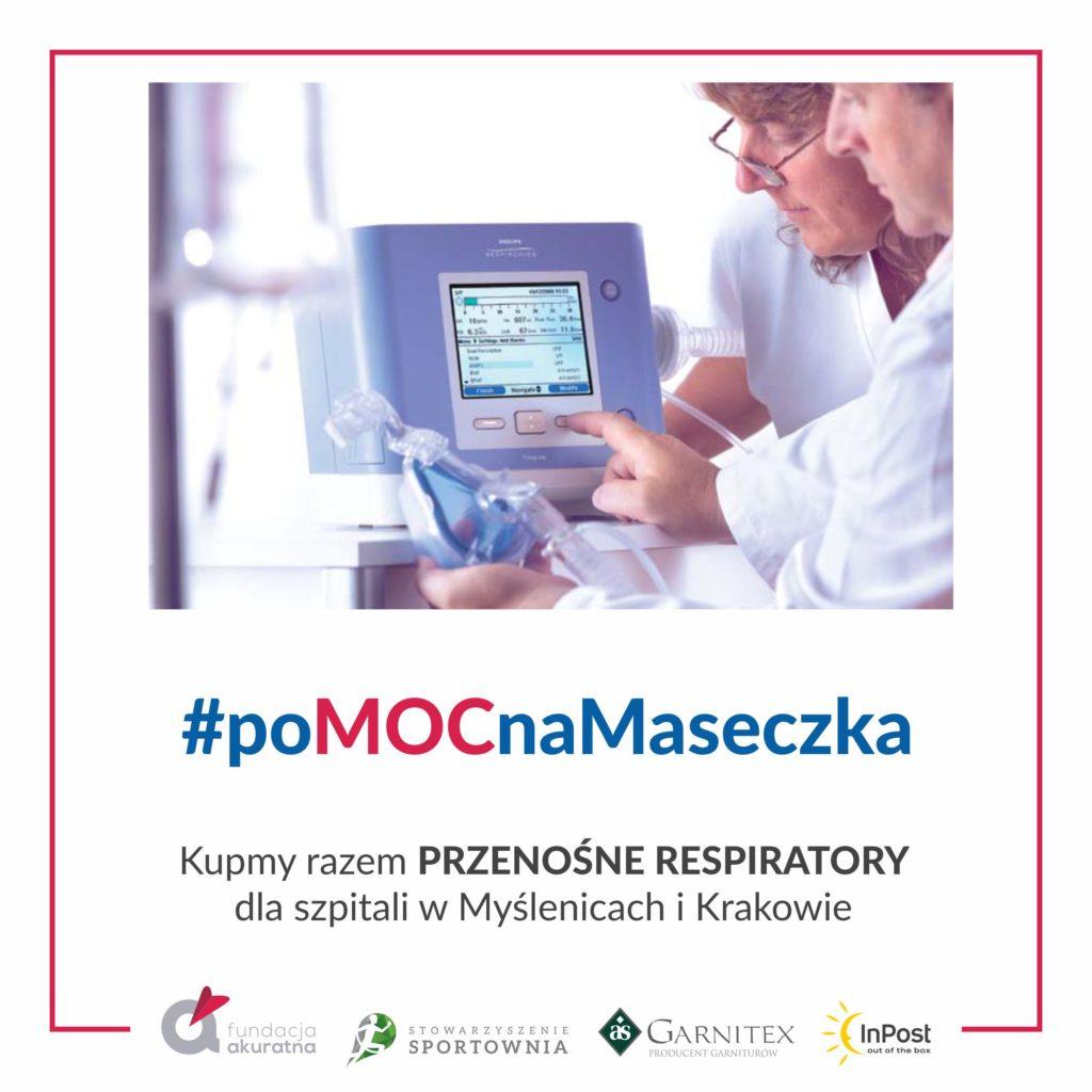 Weź udział w akcji zakupu respiratorów!