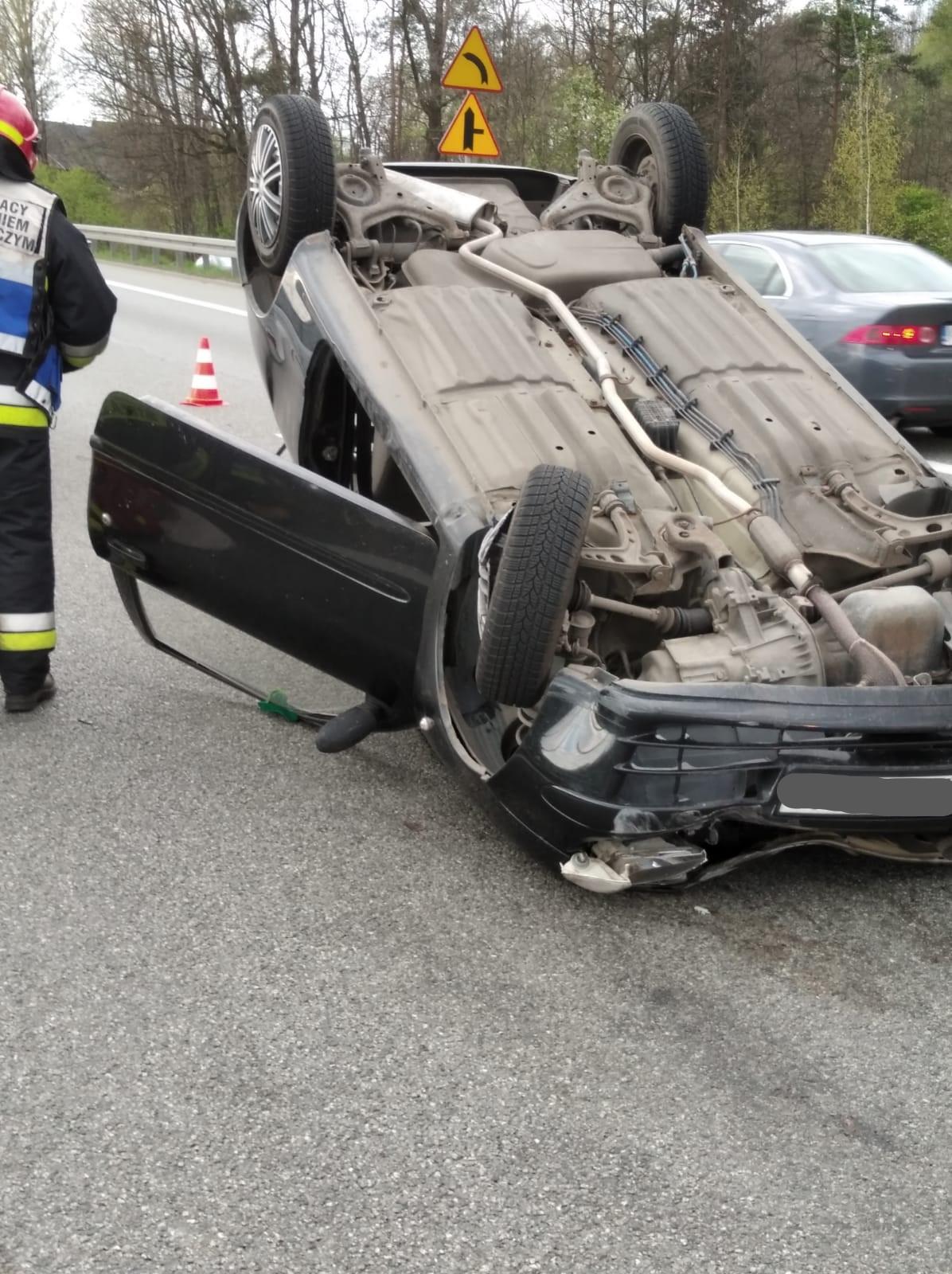 Wypadek w Krzyszkowicach