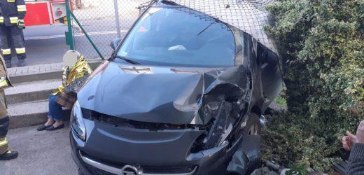 Zderzenie dwóch aut w Myślenicach