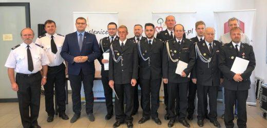 Gmina Myślenice wspiera strażaków ochotników