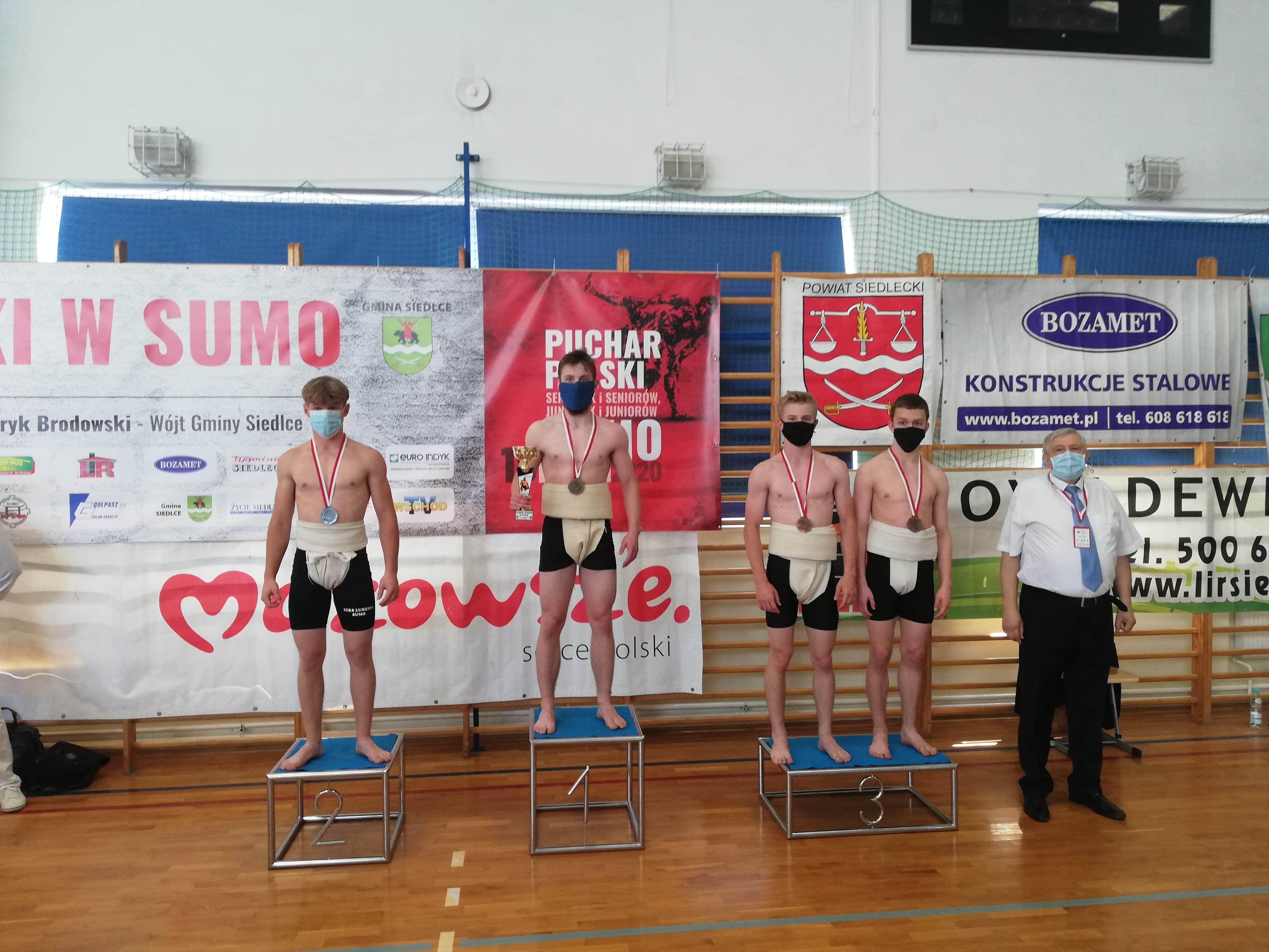 Trzy brązowe medale sumitów Dalinu w Pucharze Polski – Siedlce 2020