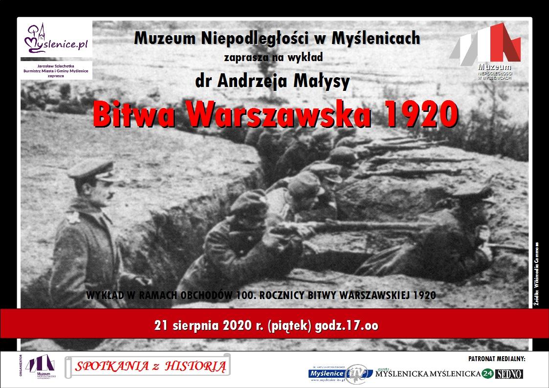 Muzeum Niepodległości w Myślenicach zaprasza na wykład