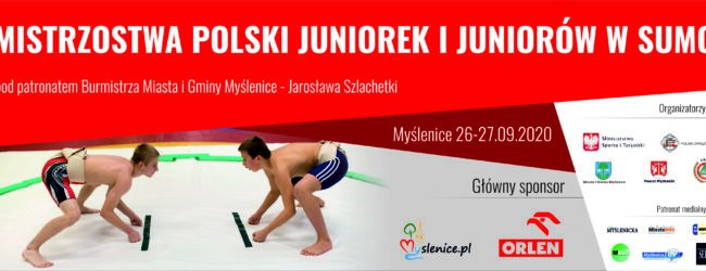 Mistrzostwa Polski Juniorek i Juniorów w sumo w Myślenicach