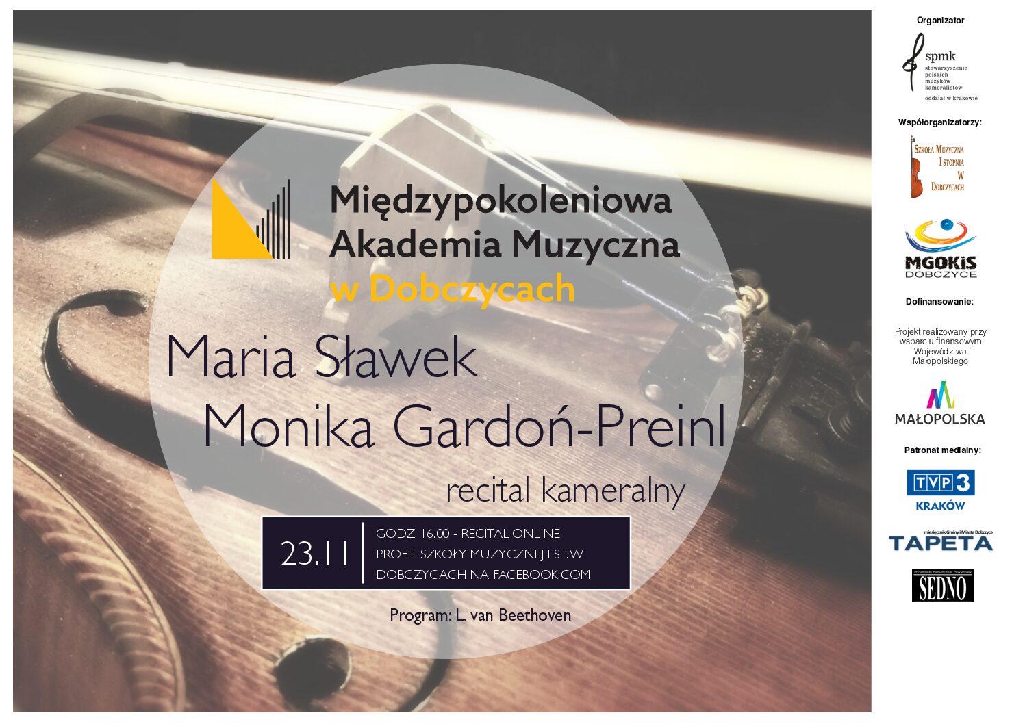 Szkoła Muzyczna w Dobczycach zaprasza