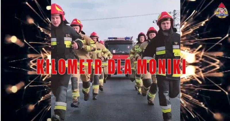 Strażacy dla Moniki