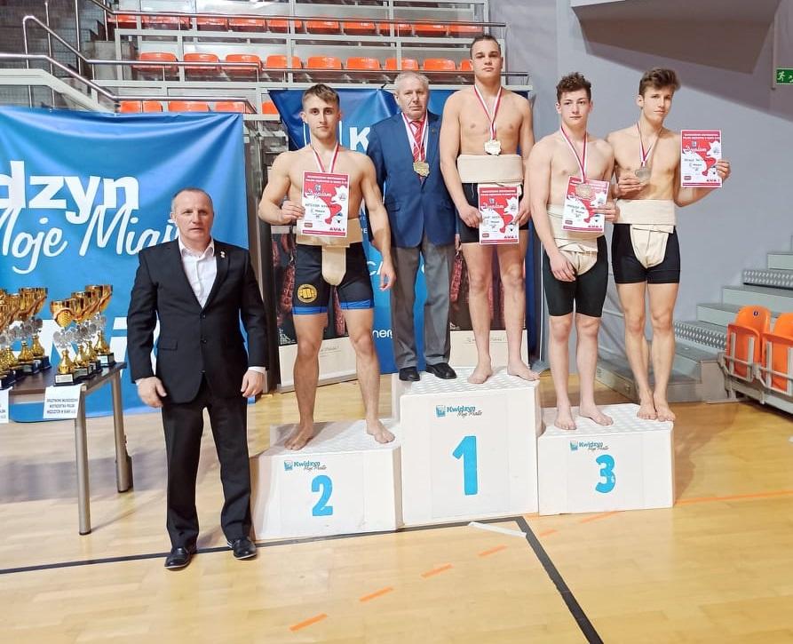 Jan Mastela z dwoma złotymi medalami