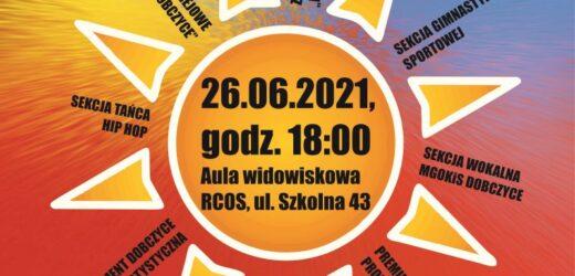 Pokaz sekcji i zespołów w dobczyckim RCOS-ie