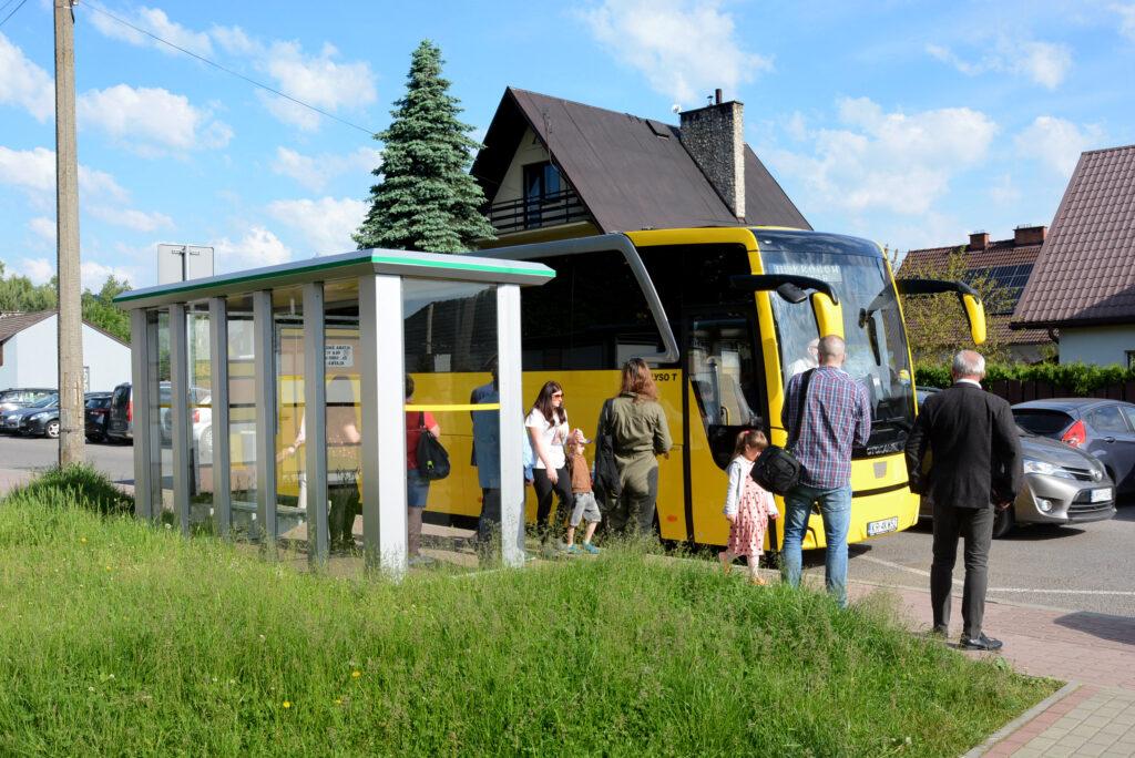 Druga linia autobusowa Kraków – Myślenice
