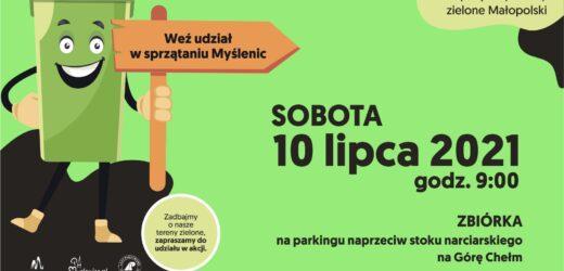 Sprzątamy tereny zielone Małopolski – weź udział w sprzątaniu Myśleni