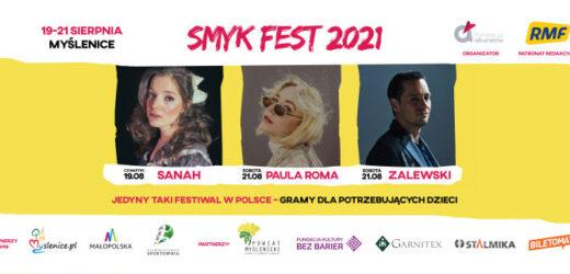 SMYK FEST – największy muzyczny festiwal charytatywny w Polsce zagra w Myślenicach!