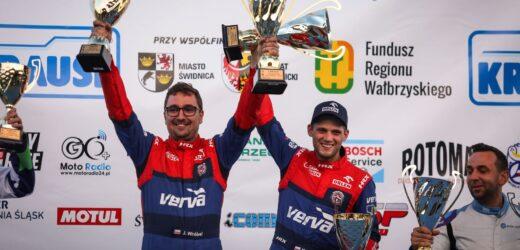 Kacper Wróblewski i Jakub Wróbel wygrali 49. Rajd Świdnicki-KRAUSE
