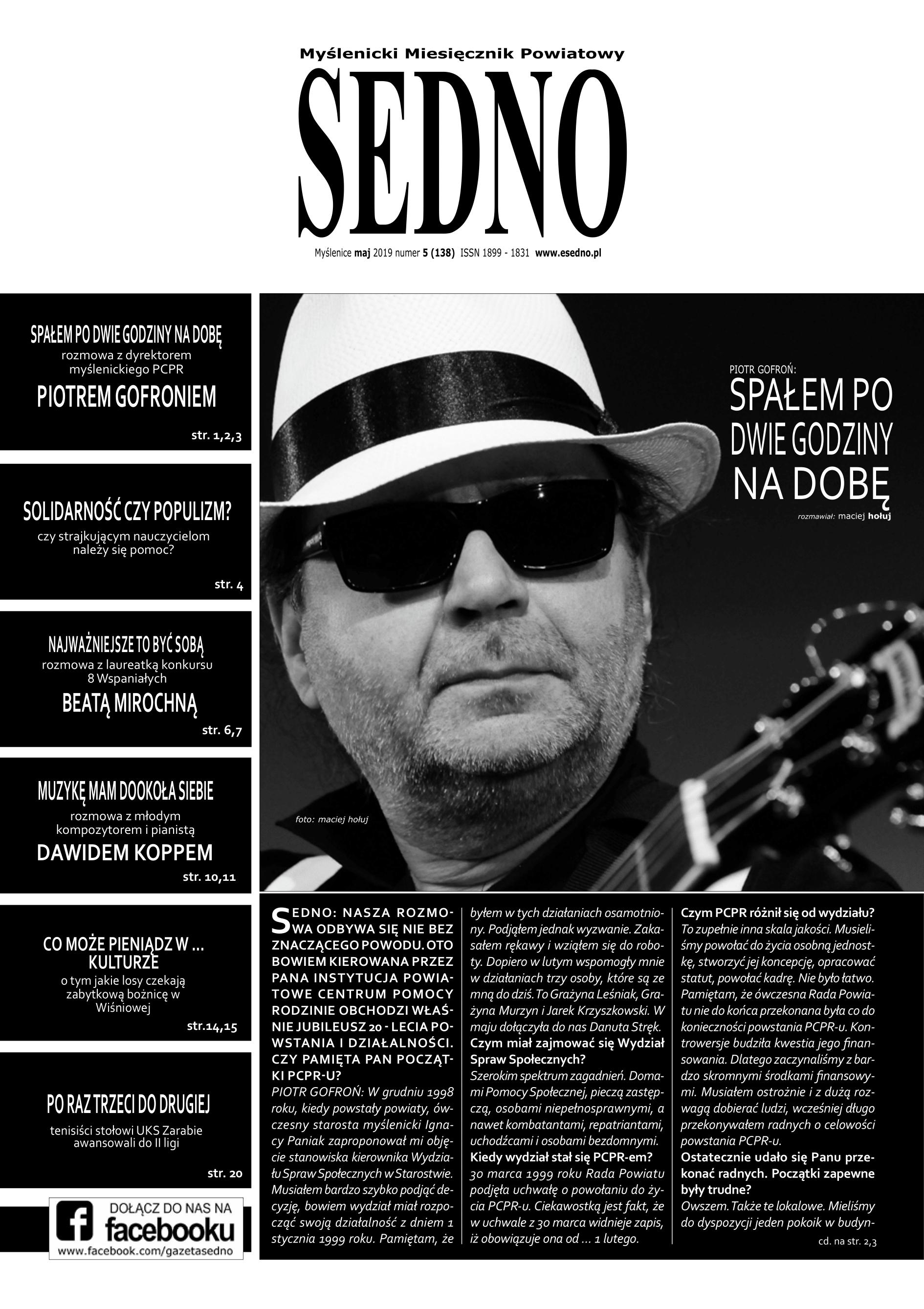 SEDNO maj 2019 numer 5
