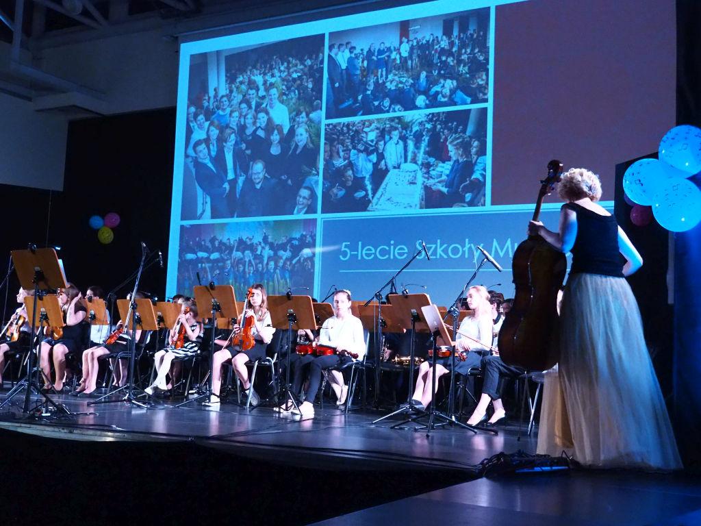 Gala na 10-lecie Szkoły Muzycznej w Dobczycach