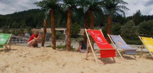 Plaża piaszczysta na Zarabiu