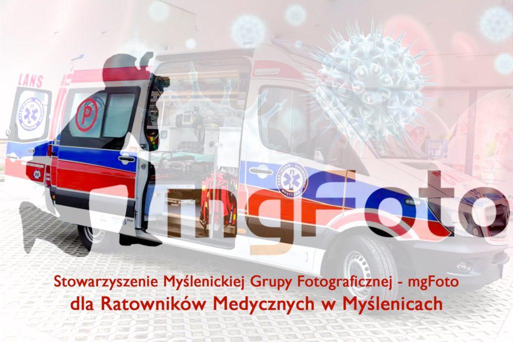 mgFoto dla myślenickich ratowników