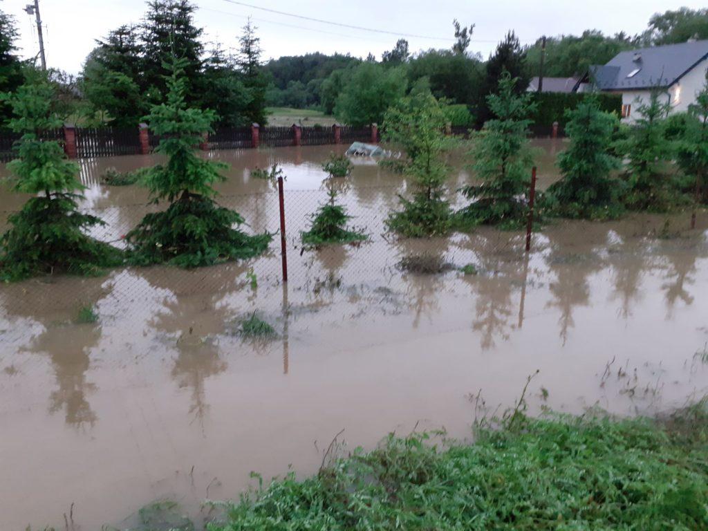 Strażacy w walce z powodzią