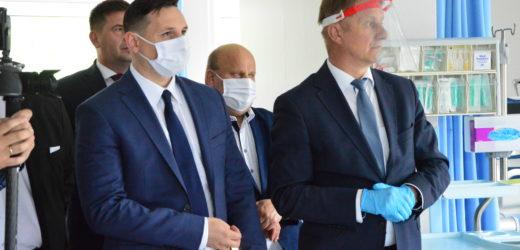 Otwarto zmodernizowane oddziały w myślenickim szpitalu