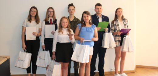 """Aleksander Trystuła laureatem gminnej edycji Konkursu """"Ośmiu Wspaniałych"""