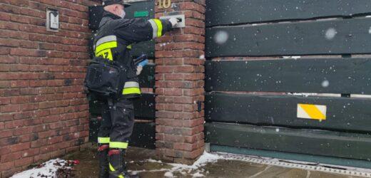 Strażacy informują o szczepieniach