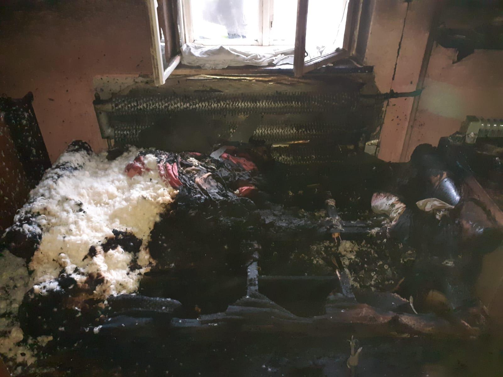 Zgon w zadymionym pomieszczeniu
