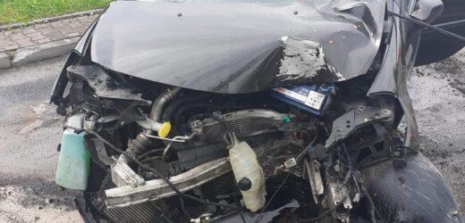 Dwa zderzenia w gminie Sułkowice