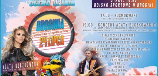 Myślenicka Scena Letnia: Koncert Agaty Buczkowskiej w Drogini!