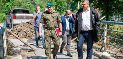 Wojsko Polskie pomoże w budowie mostu tymczasowego w Krzyszkowicach?